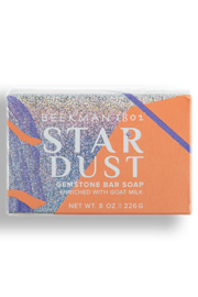 Beekman Stardust Shimmer 8 oz Bar Soap - Front cropped