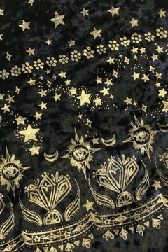 Dazey LA Stardust Velvet Dress - Alternate List Image