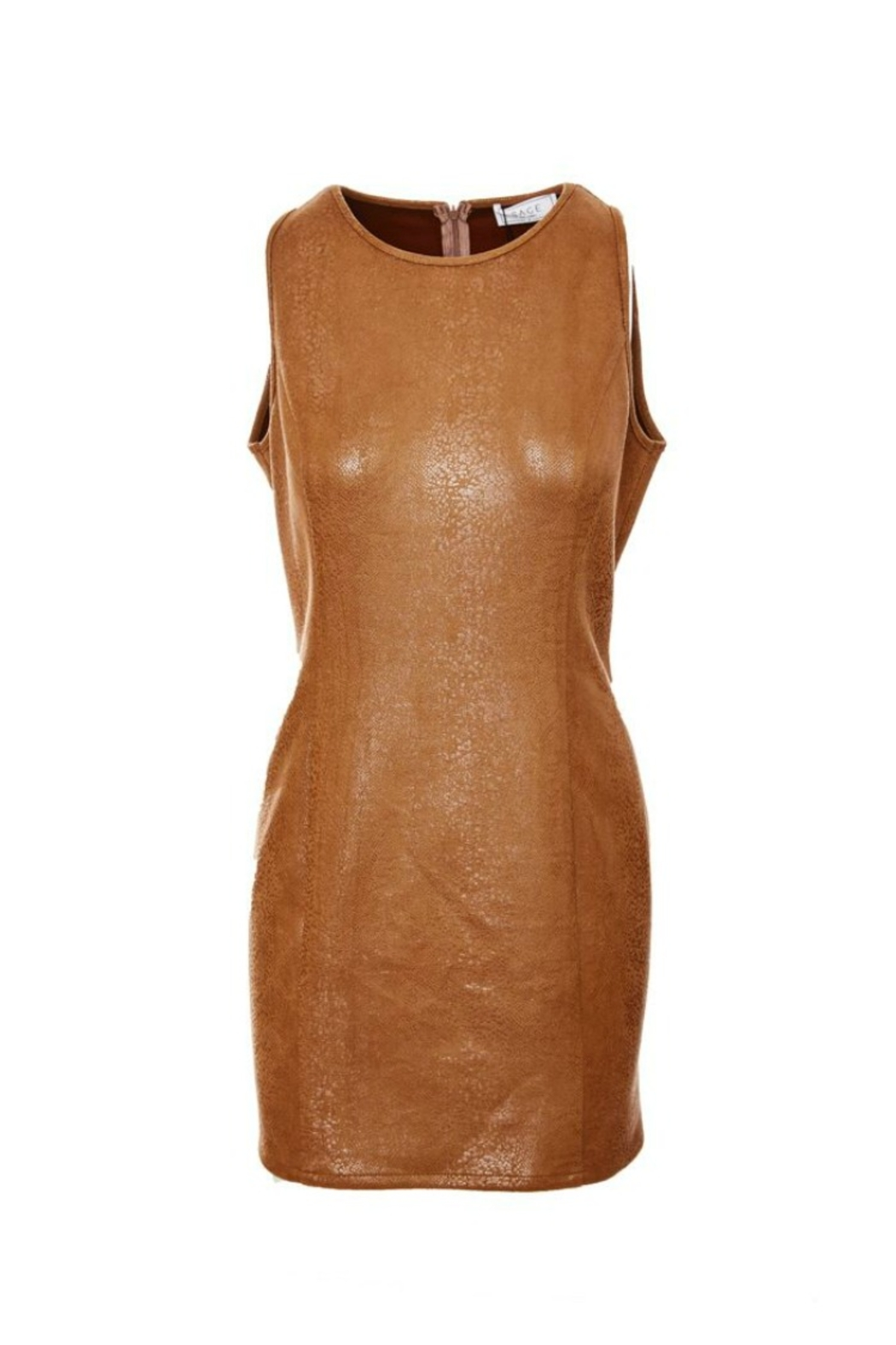 SAGE THE LABEL Stare' Mesto Body Con Dress - Front Cropped Image