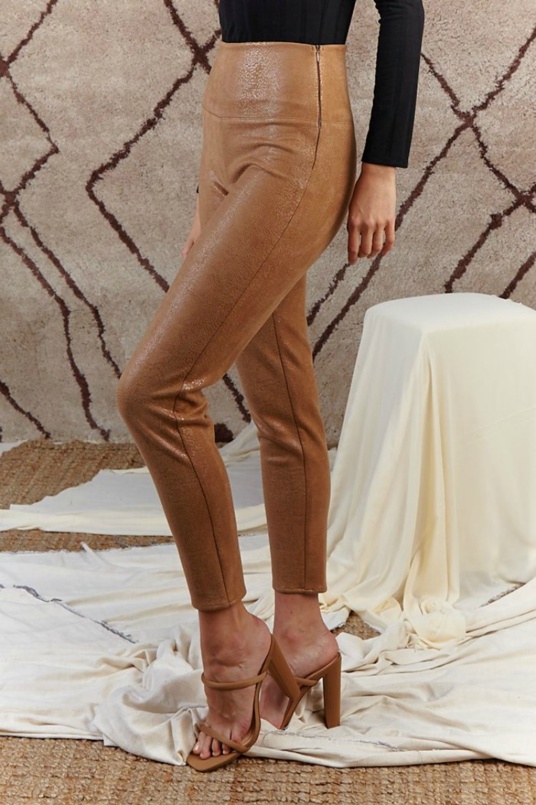 SAGE THE LABEL Stare' Mesto High Waisted Pant - Side Cropped Image