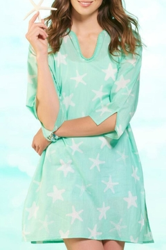 Shoptiques Product: Starfish Cotton Cover-Up