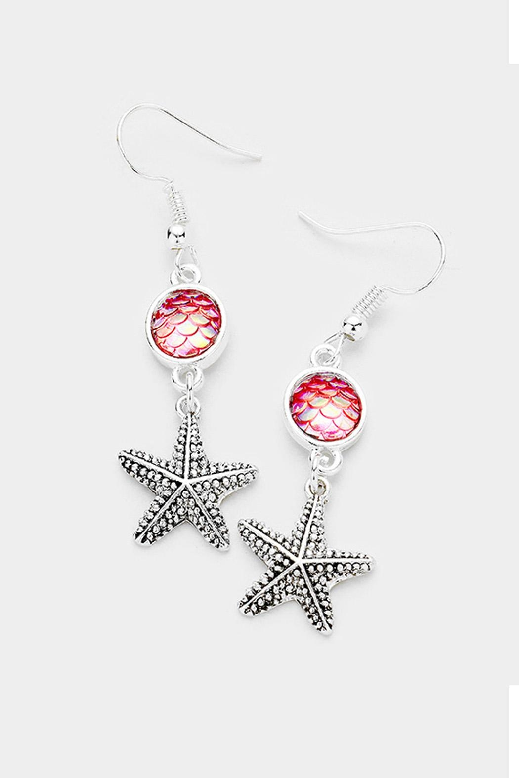 Wild Lilies Jewelry Starfish Dangle Earrings Front Cropped Image