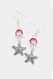 Wild Lilies Jewelry  Starfish Dangle Earrings - Product Mini Image