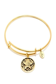 Chrysalis Starfish Gold Bangle - Front cropped