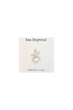 Soap and Water Newport Starfish Pearl Earrings - Product List Image