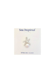 Soap and Water Newport Starfish Pearl Earrings - Product Mini Image