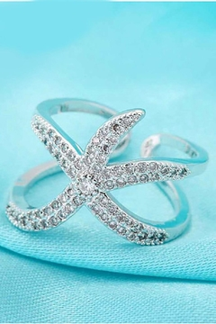 Shoptiques Product: Starfish Sterling Silver
