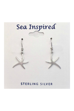 Presco Starfish Wire Dangle Earrings - Alternate List Image
