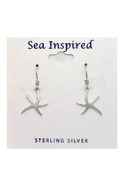Presco Starfish Wire Dangle Earrings - Product Mini Image