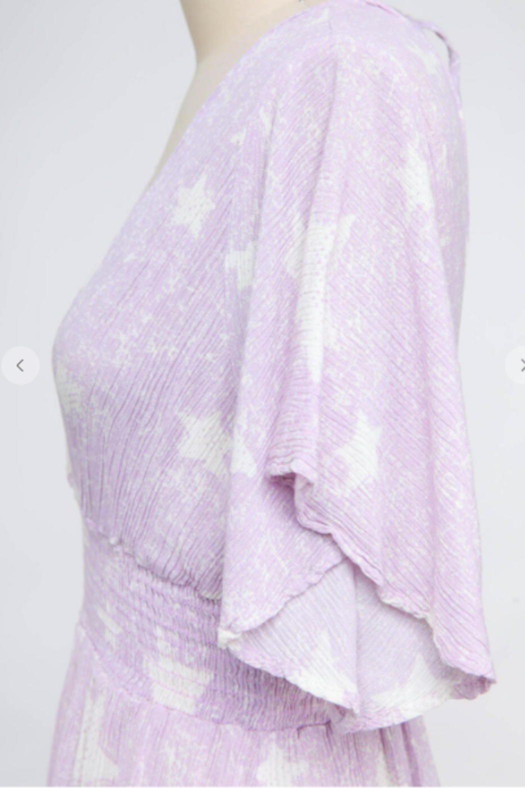 Final Touch Stargazer Ultra Lightweight Romper - Side Cropped Image