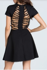 Starlette Apparel Lace Up Dress - Back cropped