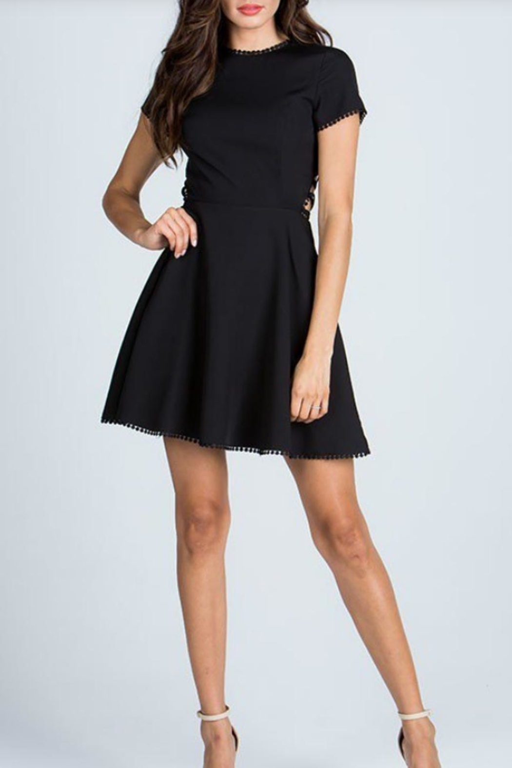 Starlette Apparel Lace Up Dress - Main Image