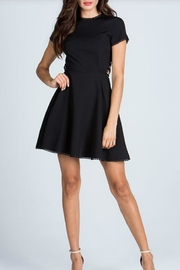 Starlette Apparel Lace Up Dress - Front cropped