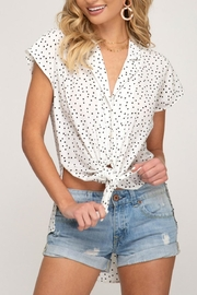 She + Sky Starlet Button-Down Top - Product Mini Image