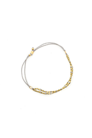 Bronwen Starlight Bracelet - Pyrite - Side cropped