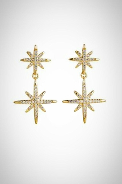 Embellish Starlight Clear Earrings - Product List Image