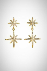 Embellish Starlight Clear Earrings - Product Mini Image
