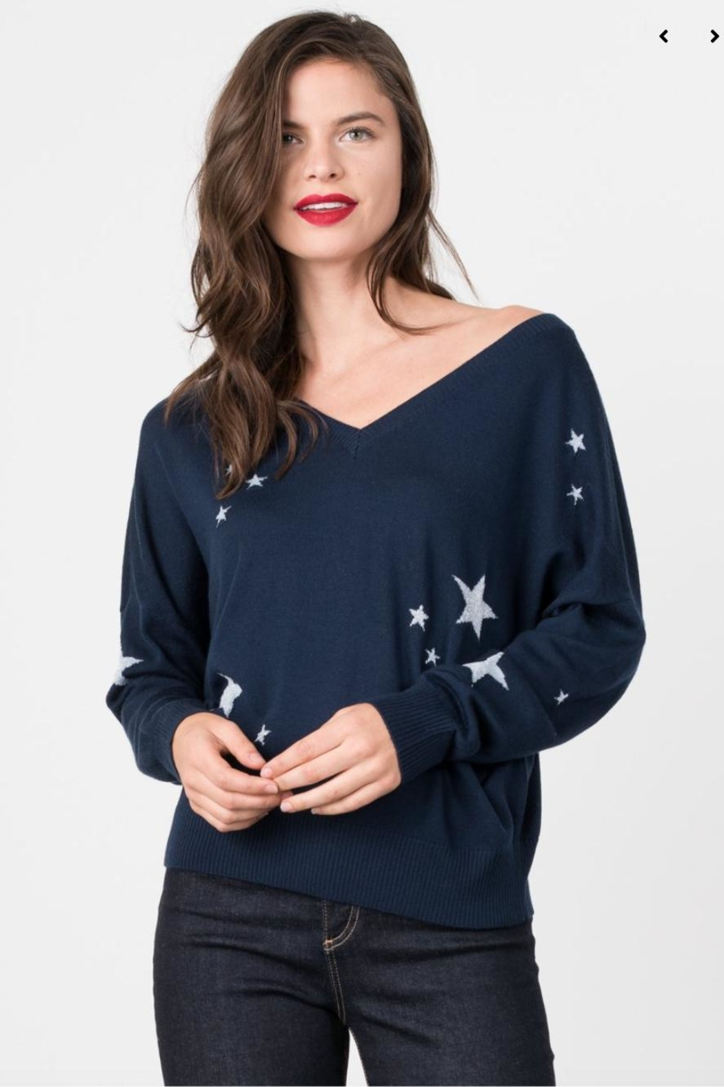 Margaret O'Leary Starry Double Vee - Front Cropped Image