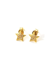 Lets Accessorize Starry Eyed Studs - Product Mini Image
