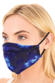 Anarchy Street Starry Night Face Mask - Product Mini Image
