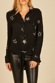 Vintage Havana  Starry Print Button Down Shirt - Product Mini Image