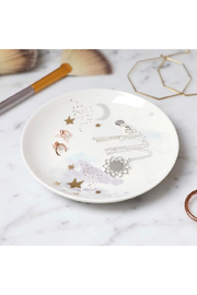 Lisa Angel Starry Round Trinket Dish - Front cropped