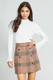 Sadie & Sage Stars Above Knit Top - Front cropped