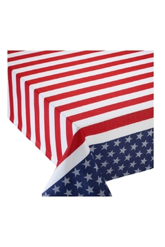 DII Design Imports Stars N'stripes Tablecloth - Alternate List Image