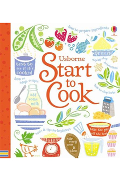 Usborne Start To Cook - Product List Image