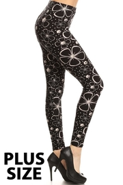 Love It Stary Flower Legging - Product Mini Image