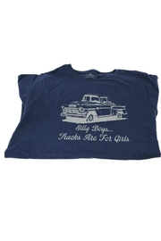 Stash Style Navy Truck T-Shirt - Side cropped