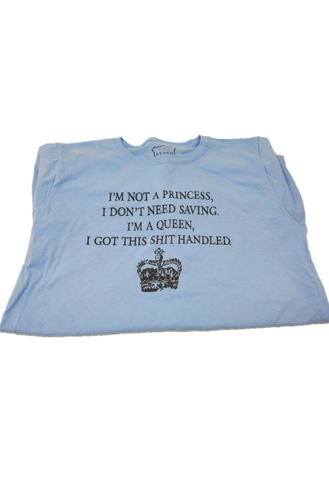 Stash Style Princess T-Shirt - Front Full Image