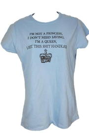 Stash Style Princess T-Shirt - Front cropped