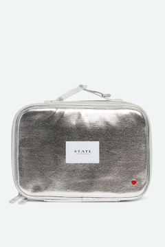 Shoptiques Product: Metallic Silver Lunch Box