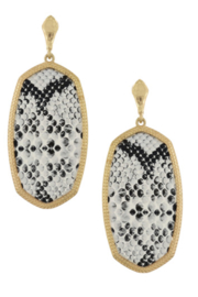 Bluebell Statement Earrings - Product Mini Image