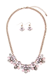 Riah Fashion Statement Necklace & Earring - Product Mini Image
