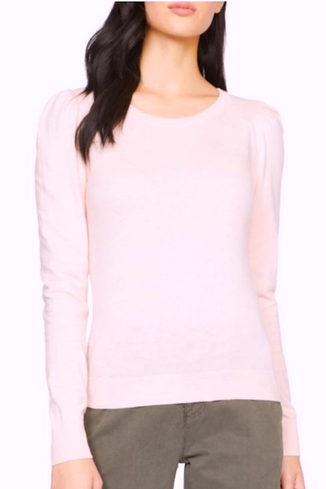 Sanctuary Statement Shoulder Sweater - Front Cropped Image