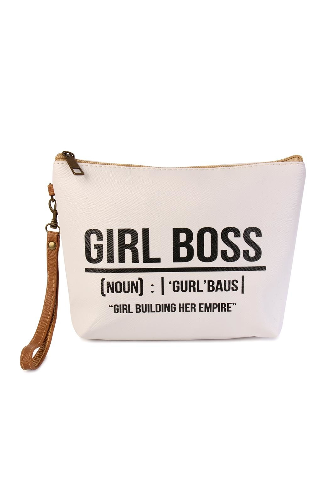 Riah Fashion Statement-Wristlet Cosmetic Bags - Front Cropped Image