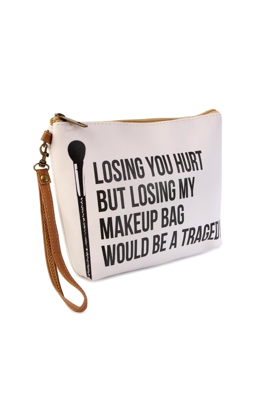 Riah Fashion Statement-Wristlet Cosmetic Bags - Front Full Image