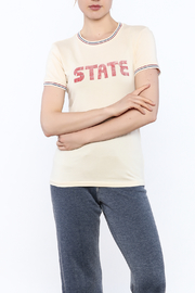 Stateside Cream State Tee - Product Mini Image