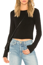 Stateside Long Sleeve Crop - Front full body