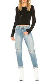 Stateside Long Sleeve Crop - Front cropped