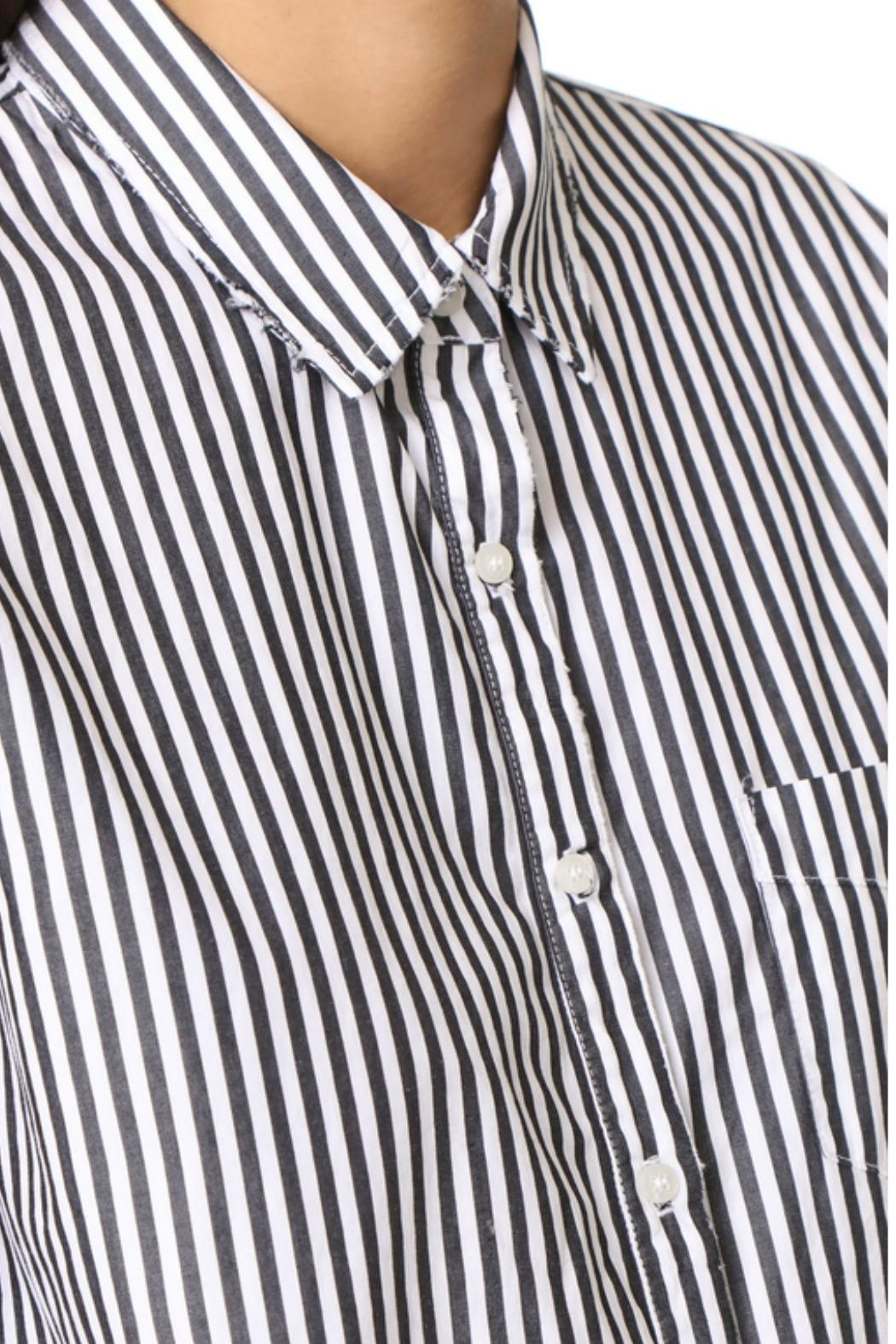 Stateside Stripe Oxford Button-Down - Front Full Image