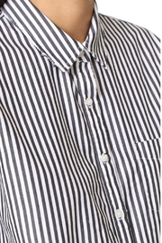 Stateside Stripe Oxford Button-Down - Front full body
