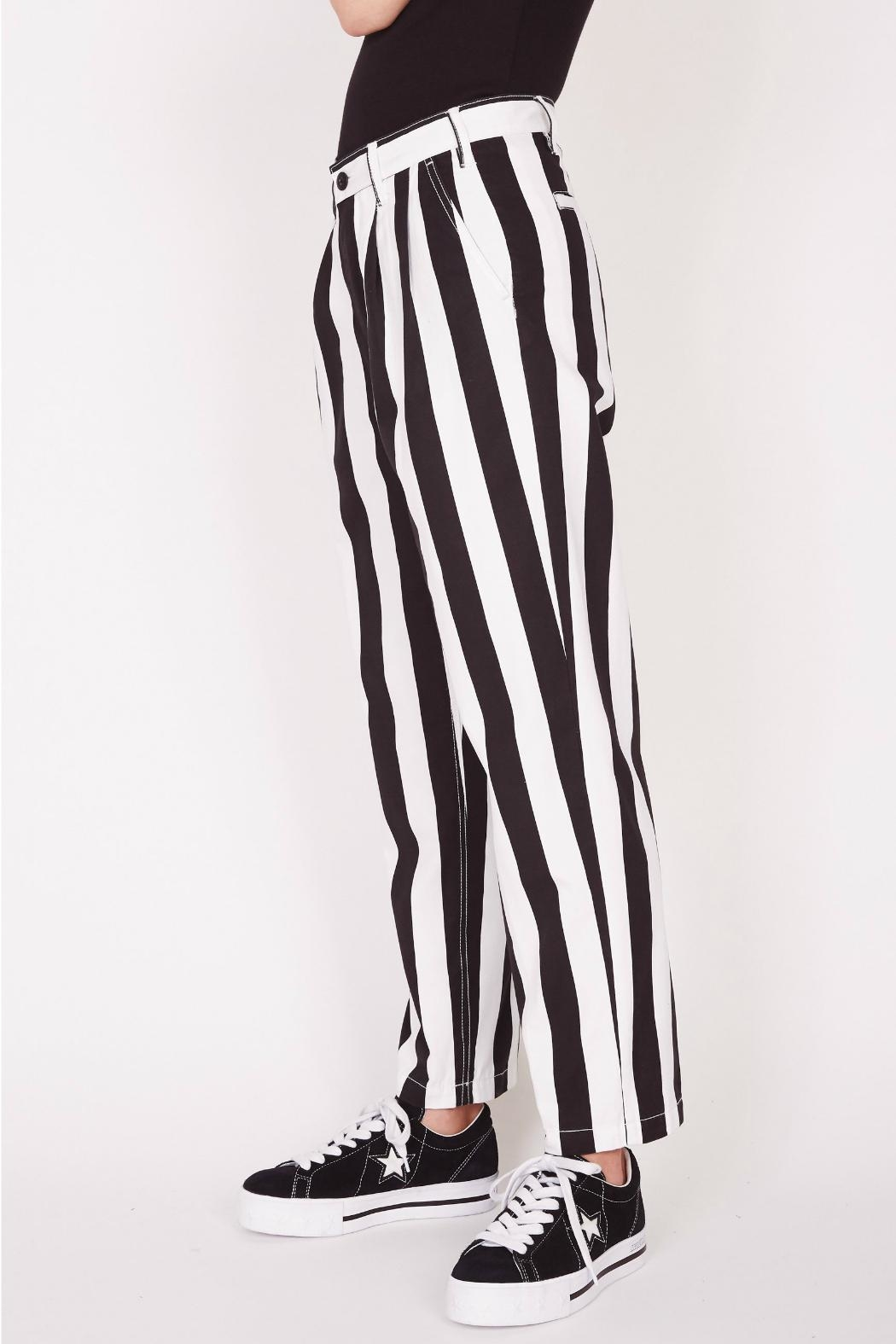 Obey Static Baggy Pant - Side Cropped Image