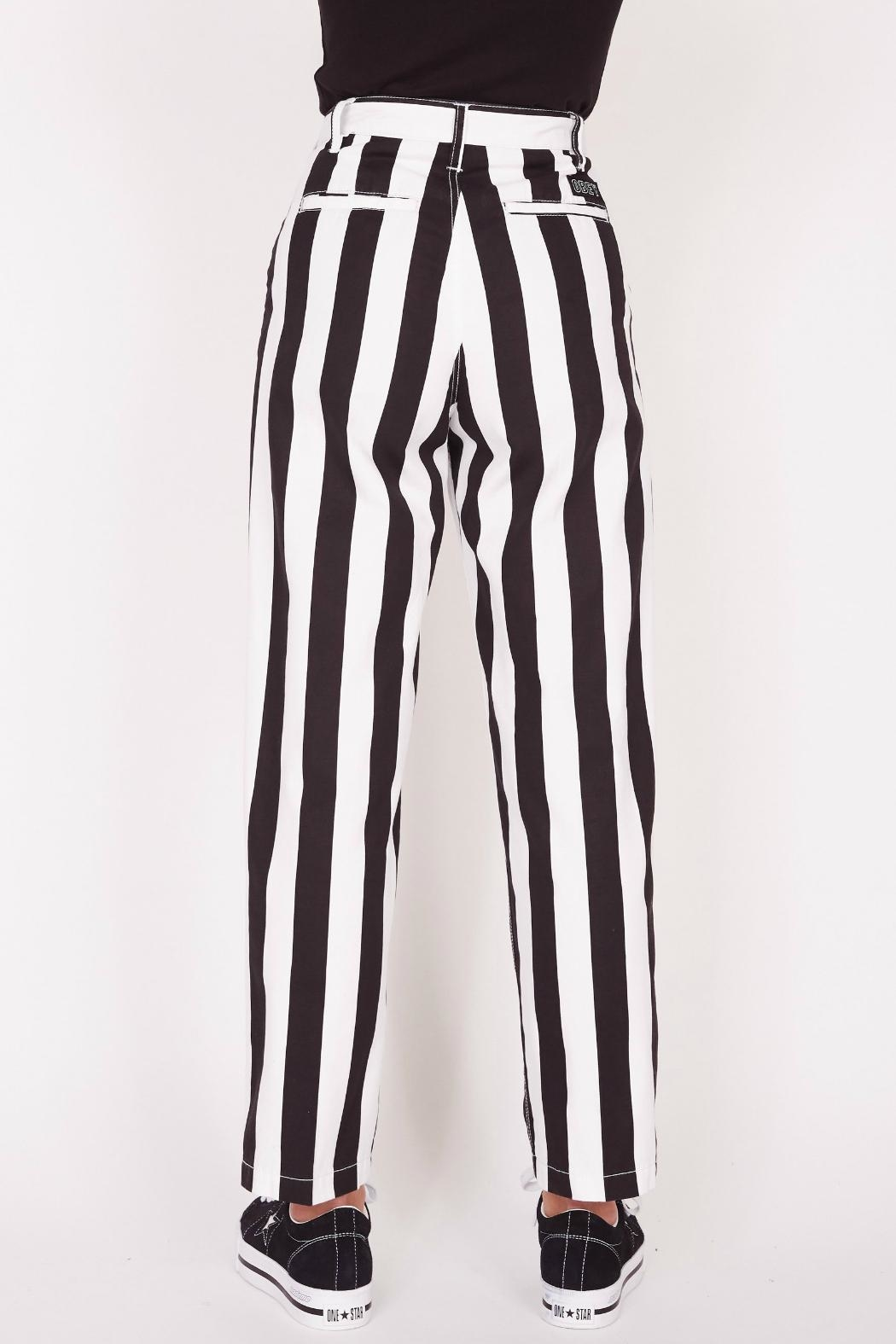 Obey Static Baggy Pant - Front Full Image