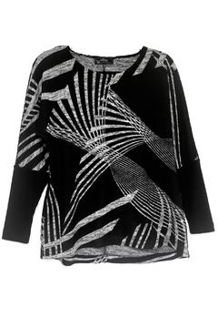 Shoptiques Product: Black Grey Sweater