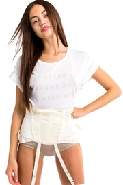 Wildfox Stay In Tee - Front cropped