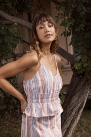 SAGE THE LABEL Stay-Leave Striped Tank - Product Mini Image