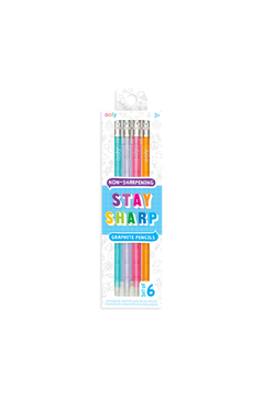 Ooly Stay Sharp Non-Sharpening Graphite Pencils - Product List Image